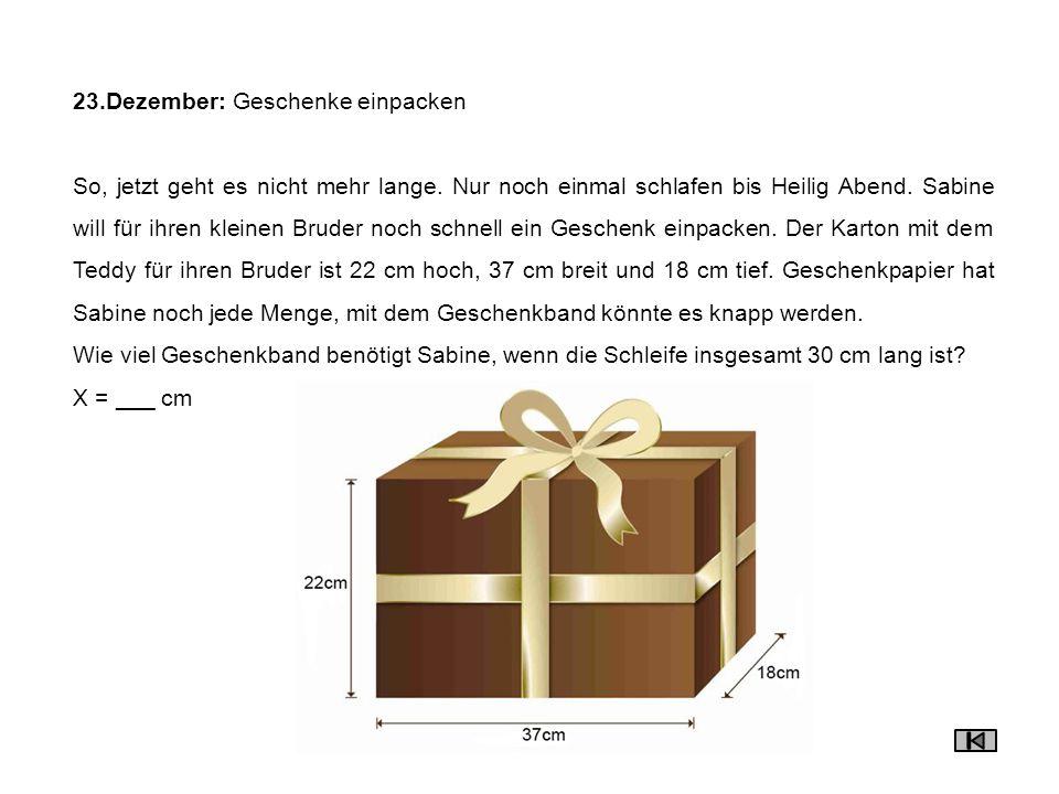 24.Dezember: Wimmelbild Suche drei weisse Zahlen im Bild.