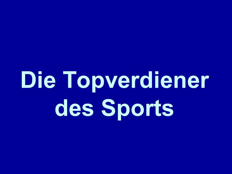 Die Topverdiener des Sports