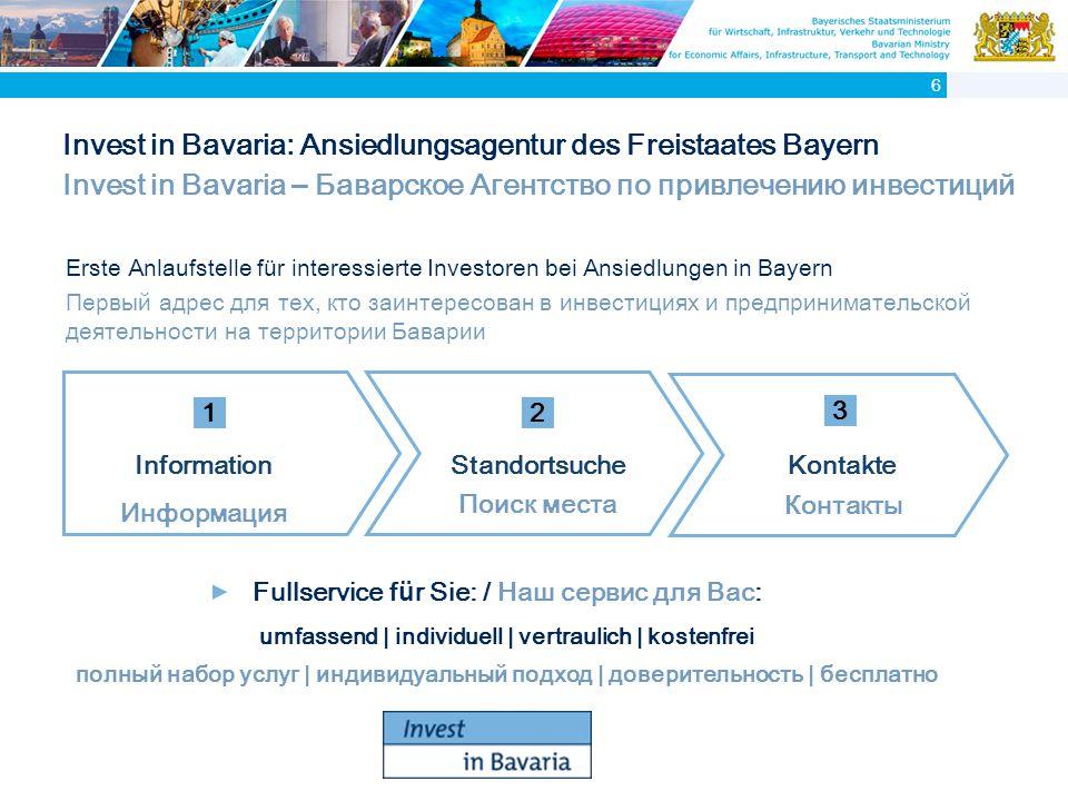 Bayerische Auslandsrepr ä sentanzen Представительства Баварии за рубежом 7
