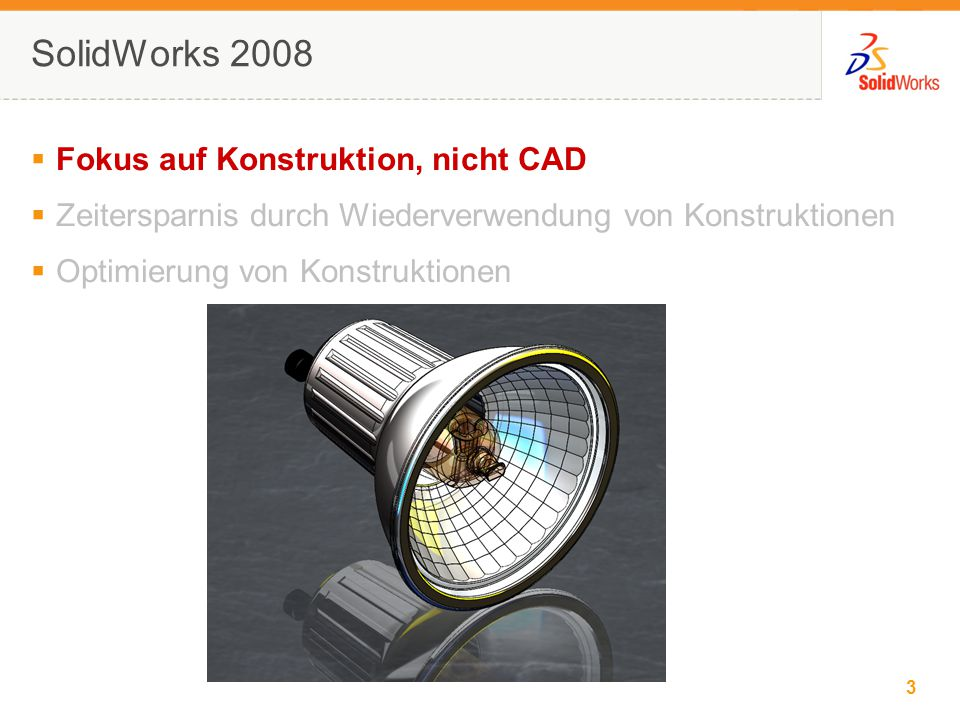 3 © 2006 SolidWorks Corp. Confidential.