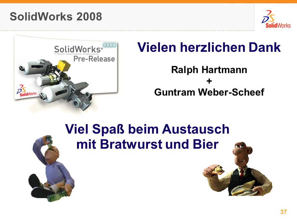 37 © 2006 SolidWorks Corp. Confidential.