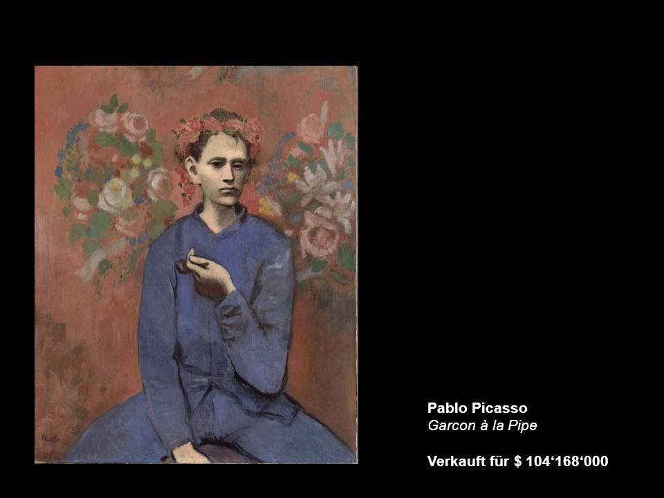 Pablo Picasso Garcon à la Pipe Verkauft für $ 104'168'000