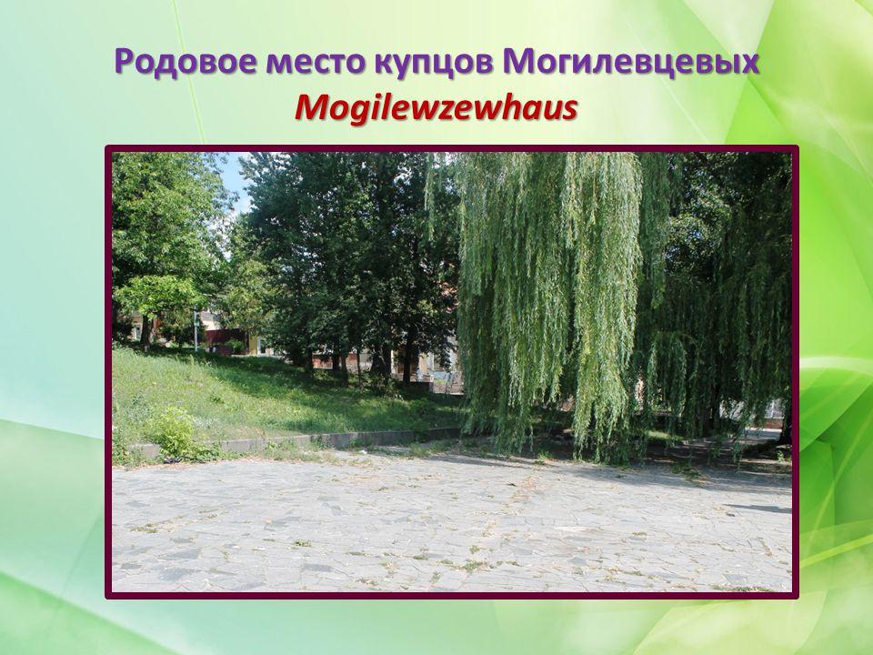 Родовое место купцов Могилевцевых Mogilewzewhaus
