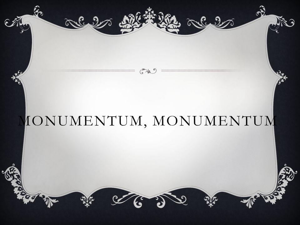 MONUMENTUM, MONUMENTUM