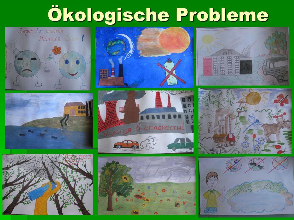 Ökologische Probleme Ökologische Probleme