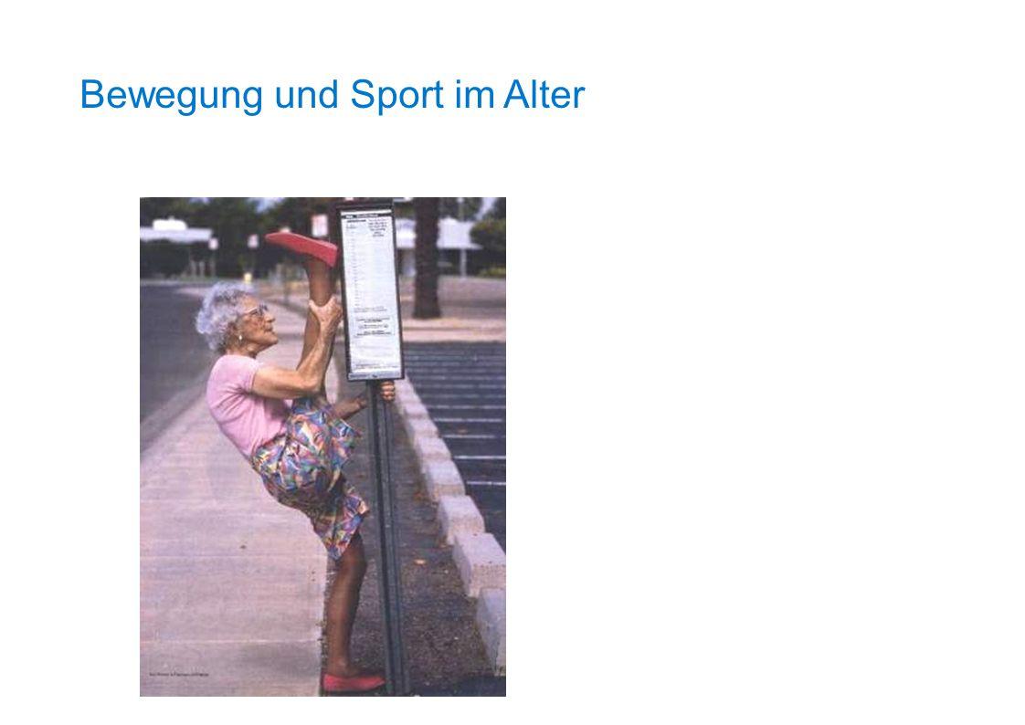 Bewegung und Sport im Alter