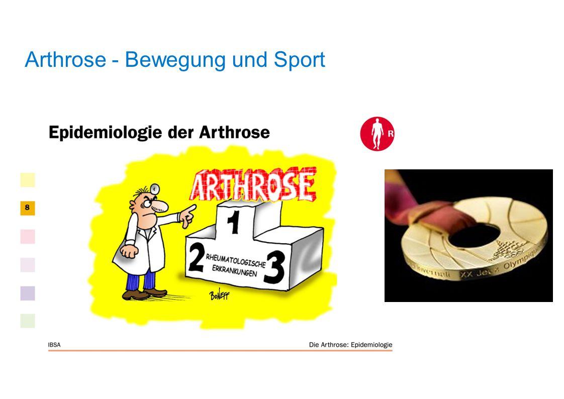 Arthrose - Bewegung und Sport