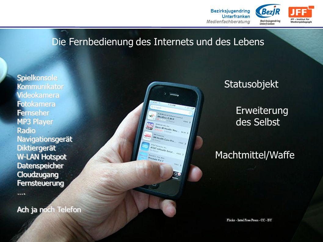www.jugend-unterfranken.de Bezirksjugendring Unterfranken Medienfachberatung Flickr - Intel Free Press - CC - BY Die Fernbedienung des Internets und d