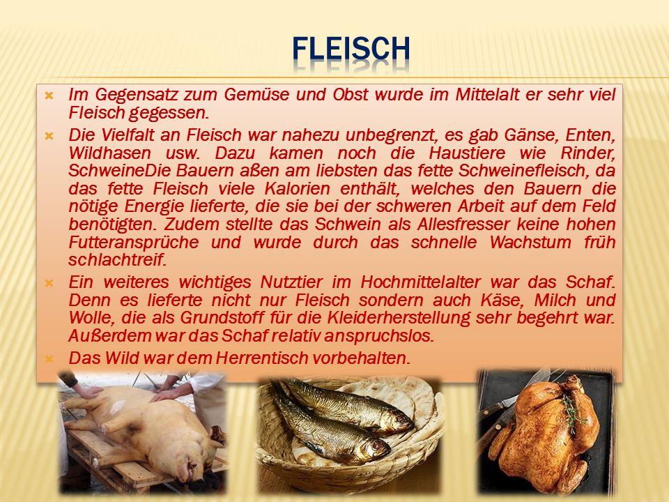 Schon im Mittelalter wurden Methoden entwickelt, um Lebensmittel länger haltbar zu machen bzw.