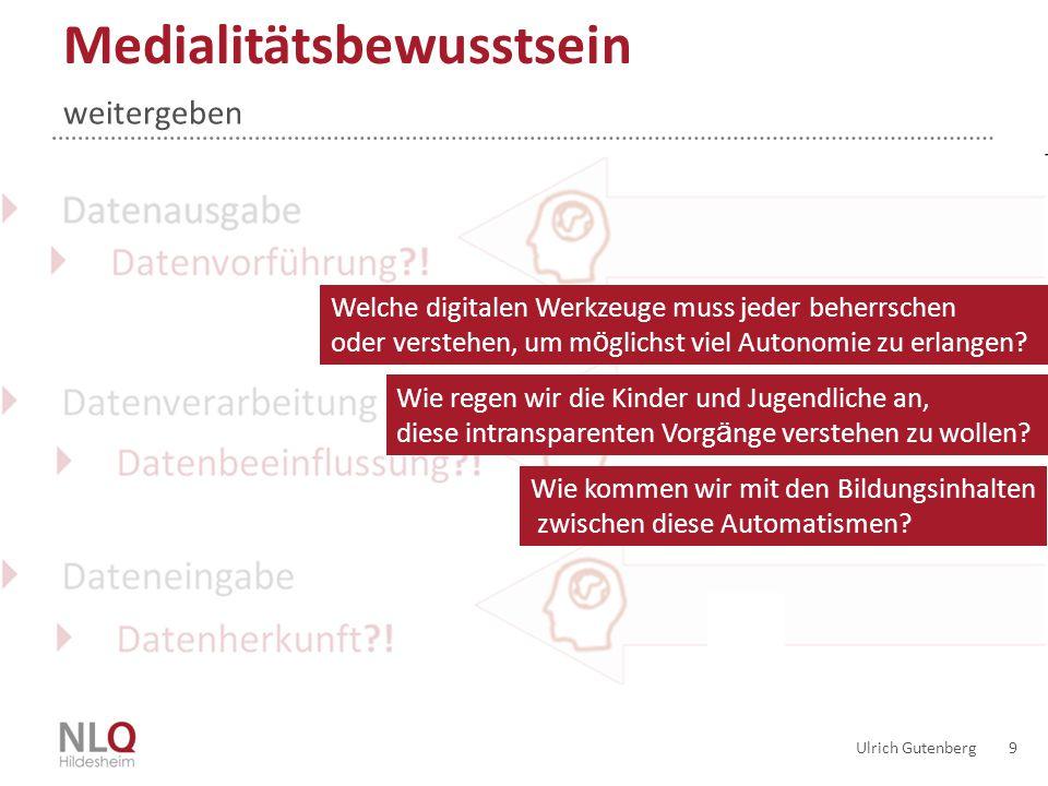 20 Lernortunterstützung Ziele der Lernsituation / Auswahl der Werkzeuge »Geräte ›mobile.
