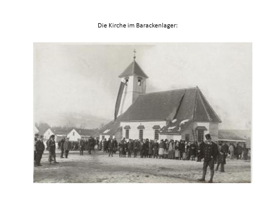 Das Gebiet des ehemaligen Stalag XVIIIA und des britischen Interniertenlagers im Ortsteil Priel:
