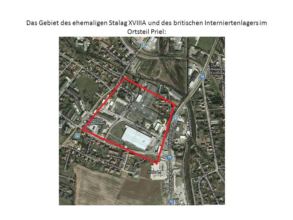 Lageplan von Stalag XVIIIA