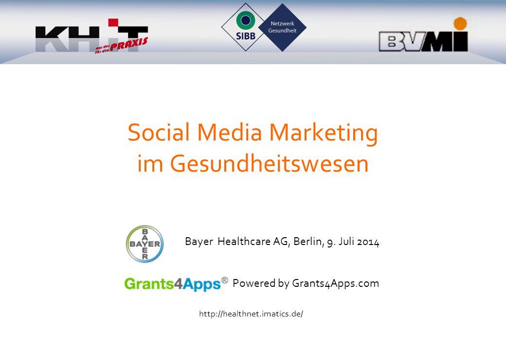 Markenkommunikation über Social Media Kein Link auf Unternehmenswebseite !.