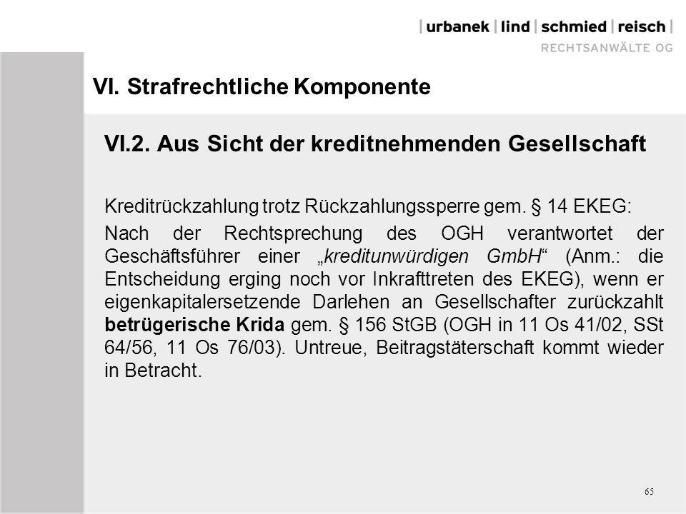 VI.Strafrechtliche Komponente VI.2.