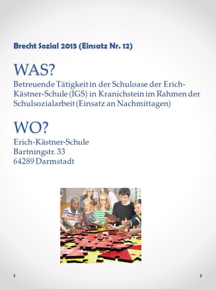 Brecht Sozial 2015 (Einsatz Nr. 12) WAS.