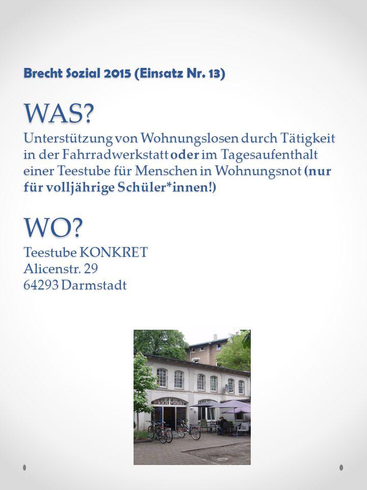 Brecht Sozial 2015 (Einsatz Nr. 13) WAS.
