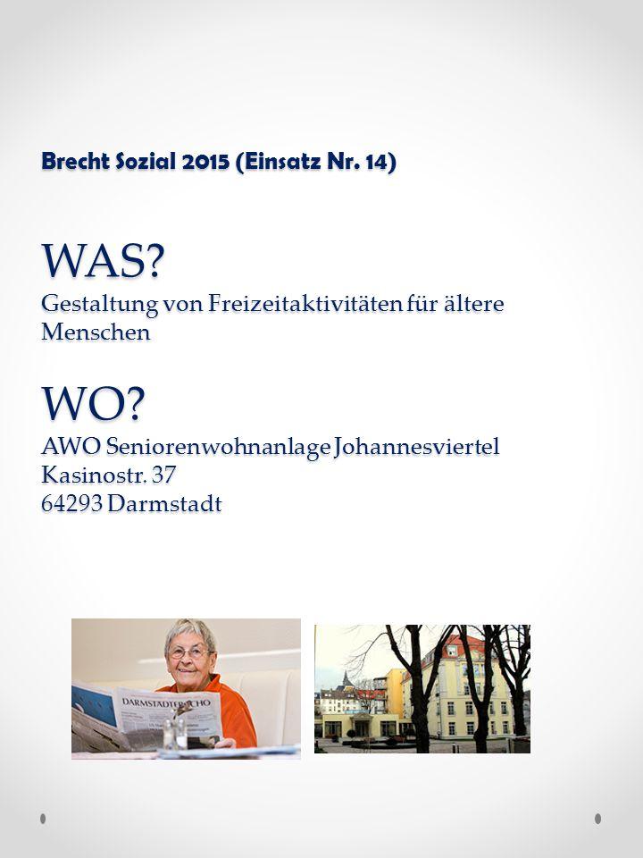 Brecht Sozial 2015 (Einsatz Nr. 14) WAS.