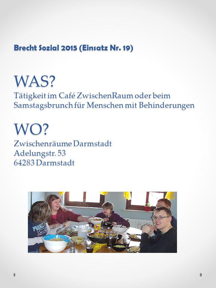 Brecht Sozial 2015 (Einsatz Nr. 19) WAS.