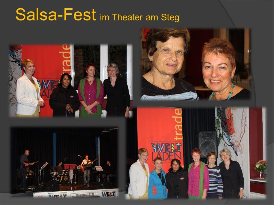 Salsa-Fest im Theater am Steg