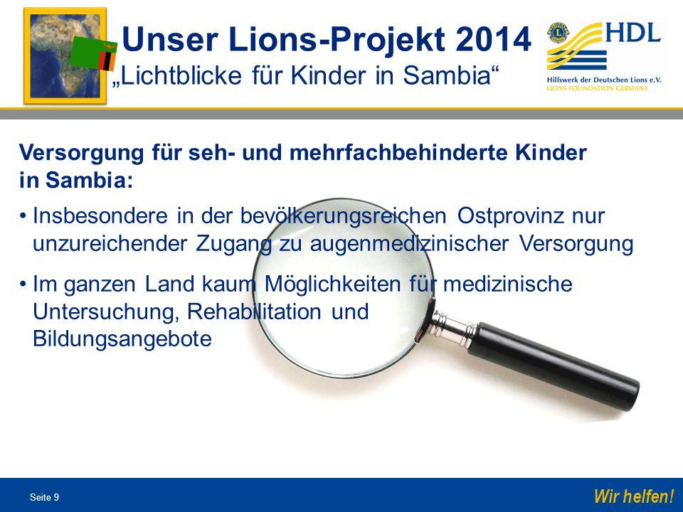 Seite 30 Wir helfen.Hilfswerk der Deutschen Lions e.V.