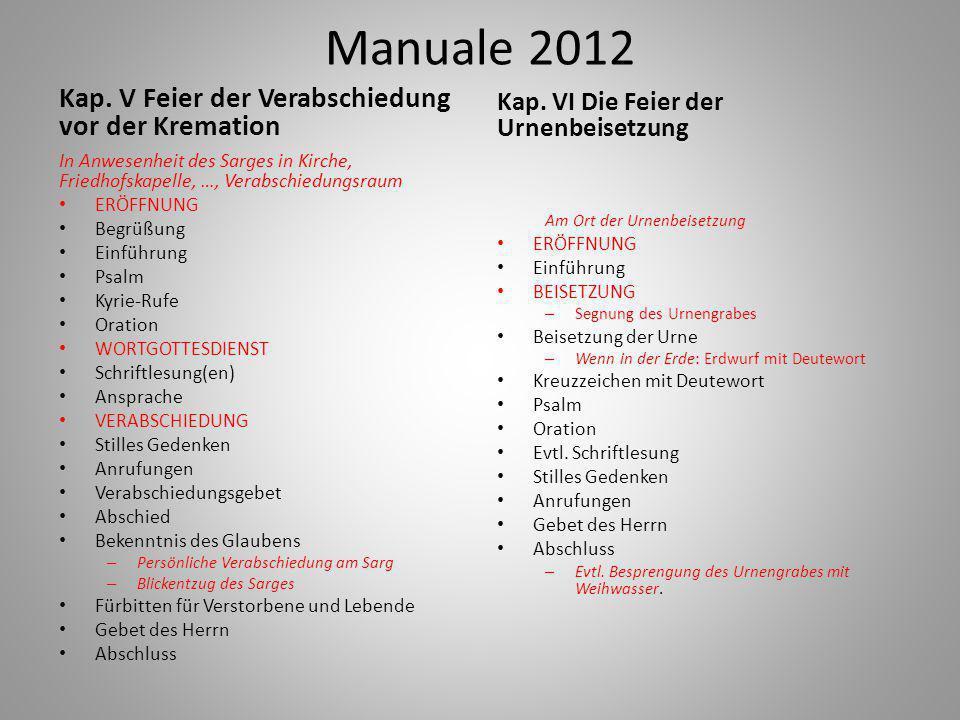 Manuale 2012 Kap.