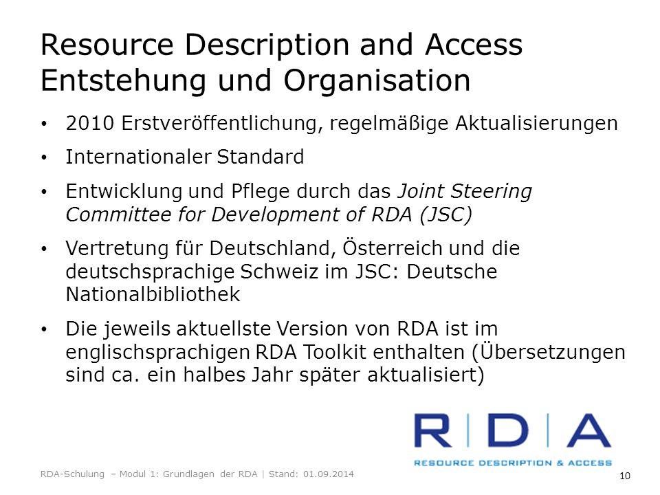 10 2010 Erstveröffentlichung, regelmäßige Aktualisierungen Internationaler Standard Entwicklung und Pflege durch das Joint Steering Committee for Deve