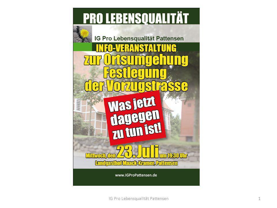 IG Pro Lebensqualität Pattensen1