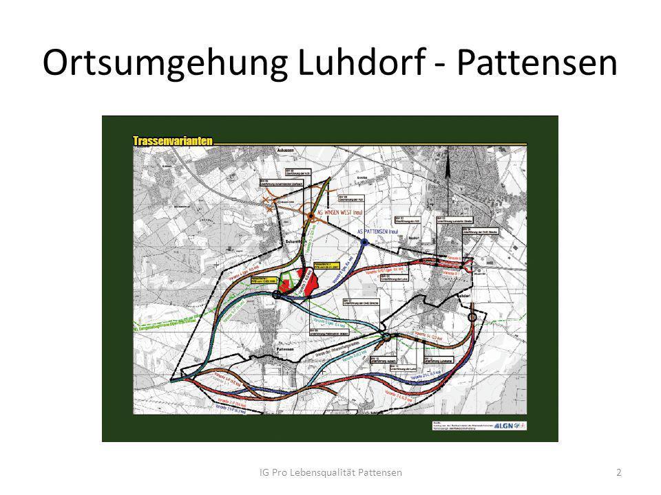 Ortsumgehung Luhdorf - Pattensen IG Pro Lebensqualität Pattensen2