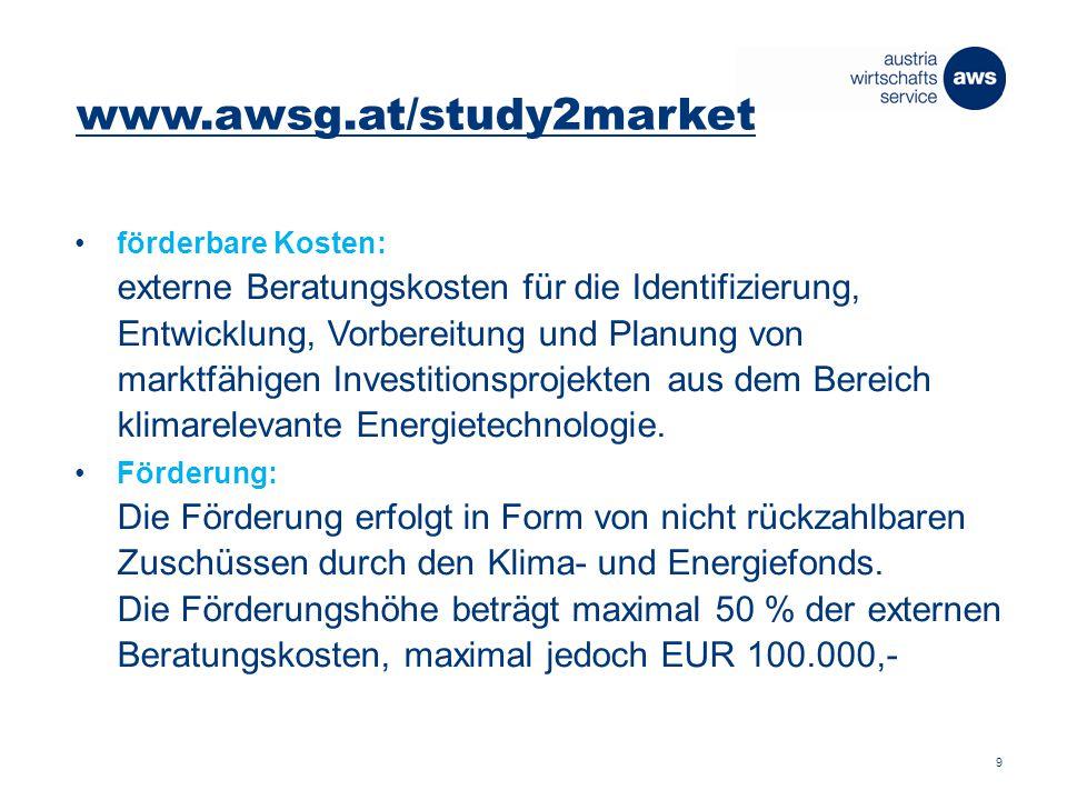 Von der Forschung in den Markt Vernetzung und Technologie- Internationalisierung für österreichische Unternehmen wachstum und innovation konsequent fördern