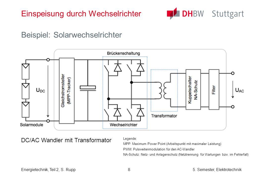 Energietechnik, Teil 2, S.Rupp5. Semester, Elektrotechnik Quelle: Öko-Institut e.V.