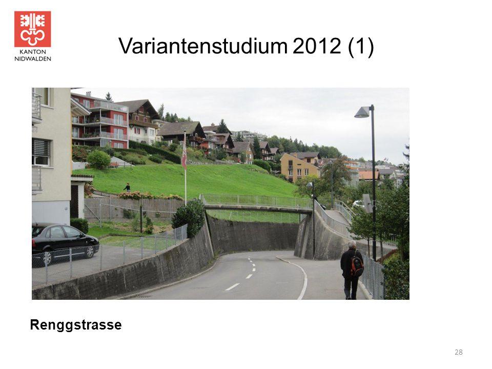 Variantenstudium 2012 (1) 28 Renggstrasse