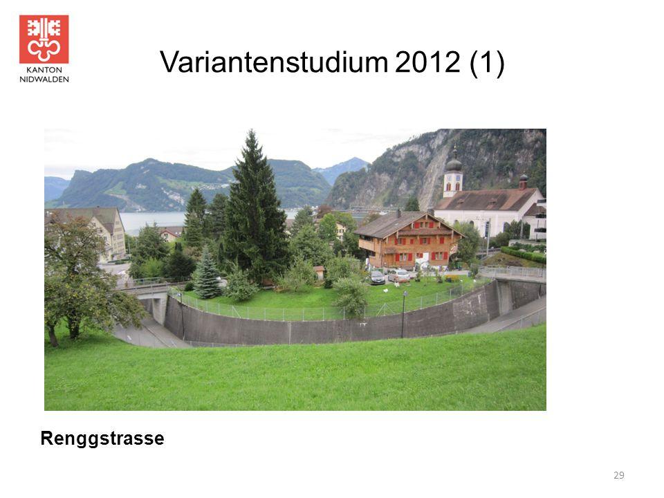 Variantenstudium 2012 (1) 29 Renggstrasse
