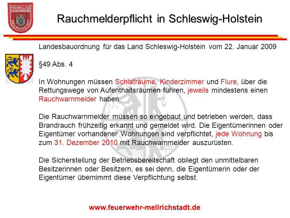 www.feuerwehr-mellrichstadt.de Laut Landesfeuerwehrverband Bayern sind fast ein Drittel aller Brandopfer Kinder.