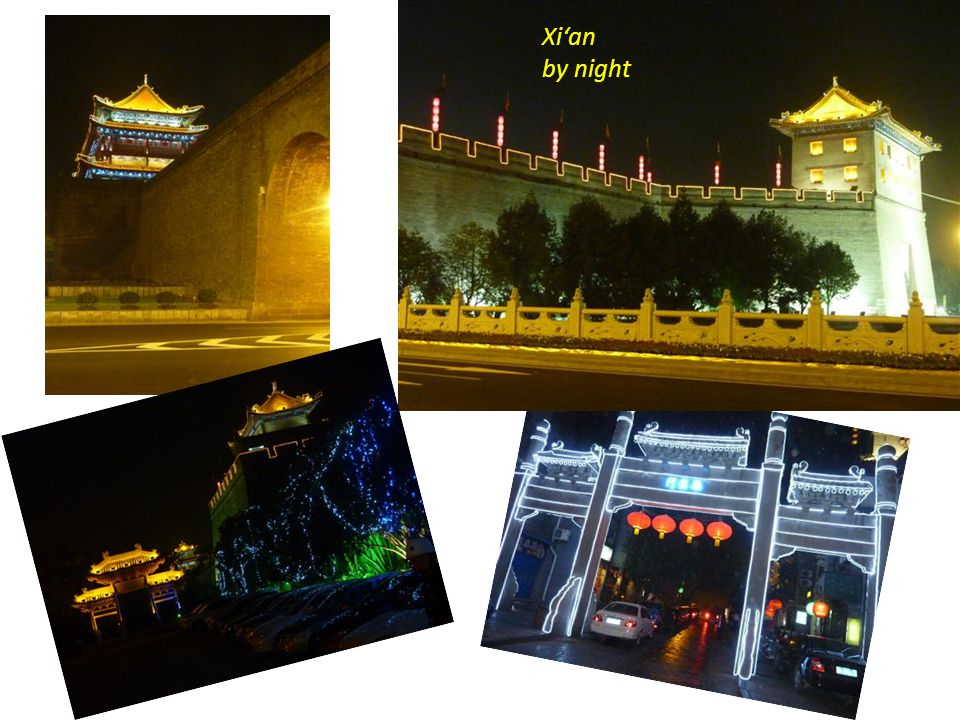 Grösste Stadtmauer in China ( erbaut im 14. Jhd.) Länge : 14 km Breite an der Krone : 12 m Höhe der Mauer : 12 m 1 -stündige Fahrradtour auf der 14 km