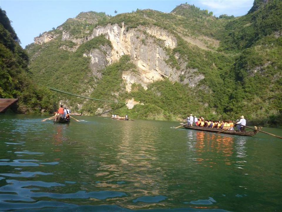 """Ein Nebenfluss des Jangtse Ausflug auf dem idyllischen """"SHENNON-RIVER"""","""