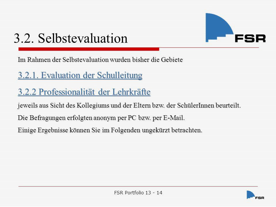 FSR Portfolio 13 - 14 3.2.1.