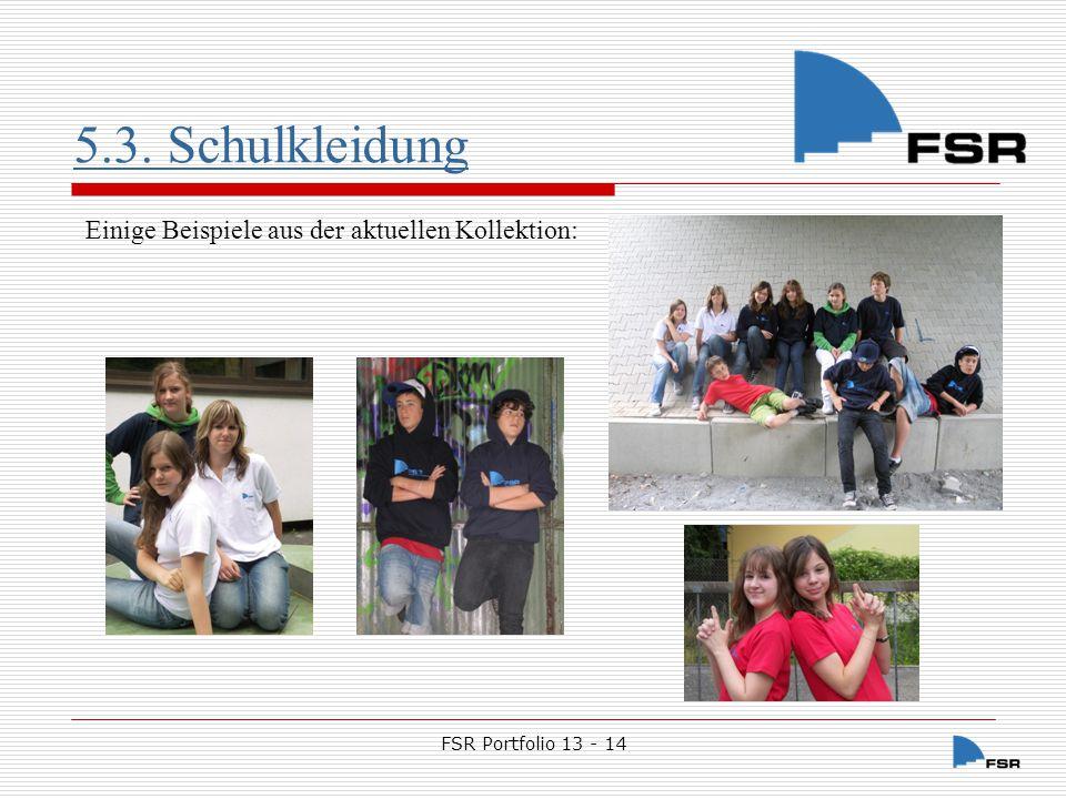 FSR Portfolio 13 - 14 5.4.