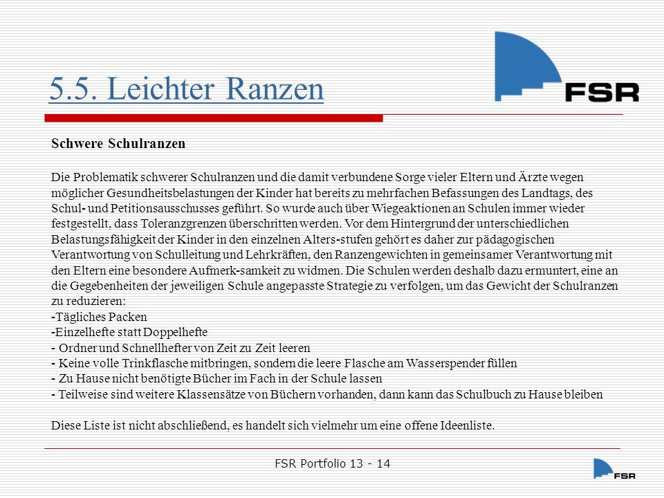 FSR Portfolio 13 - 14 5.5.