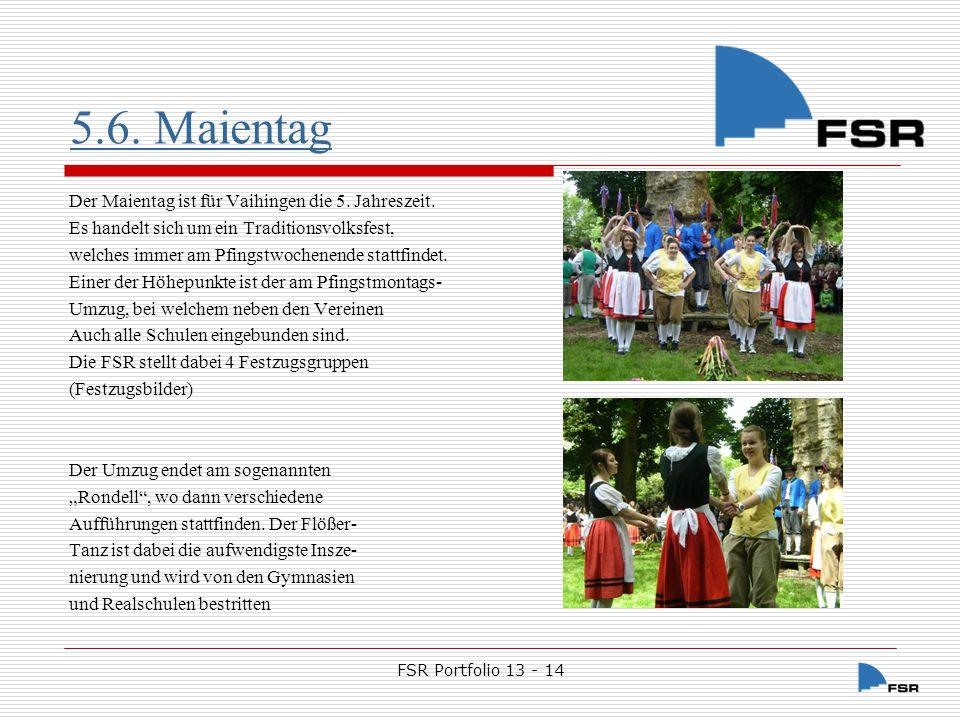 FSR Portfolio 13 - 14 5.7.