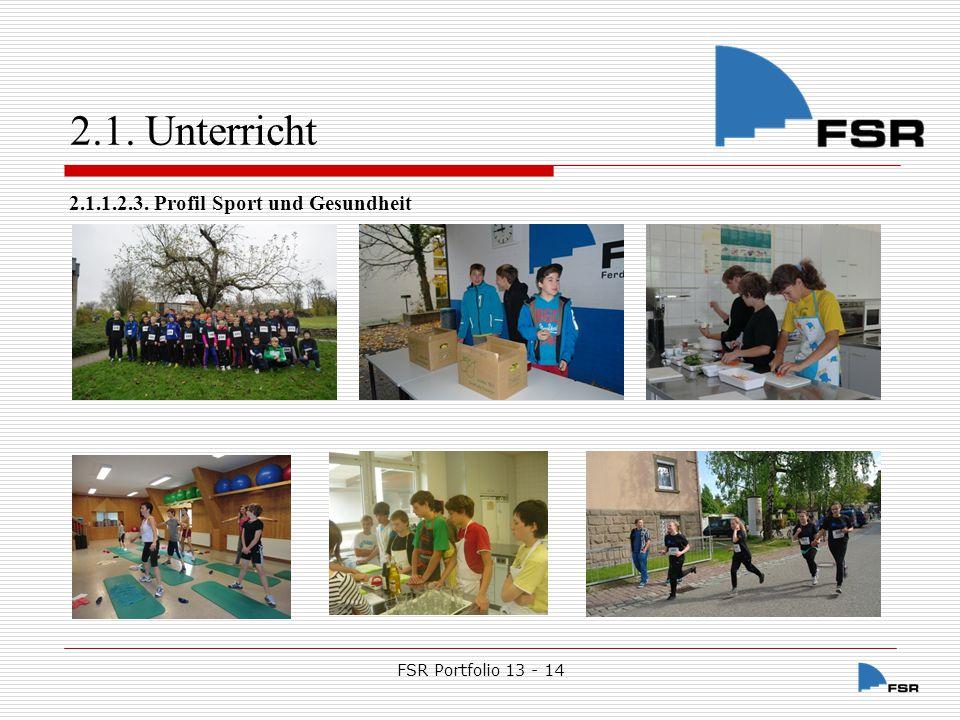 FSR Portfolio 13 - 14