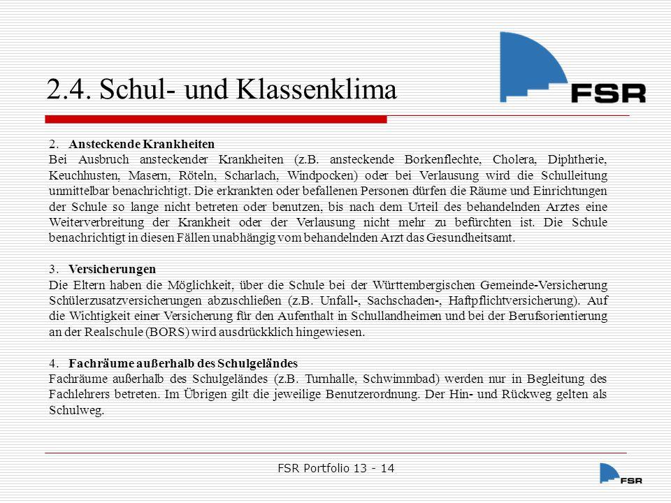 FSR Portfolio 13 - 14 5.