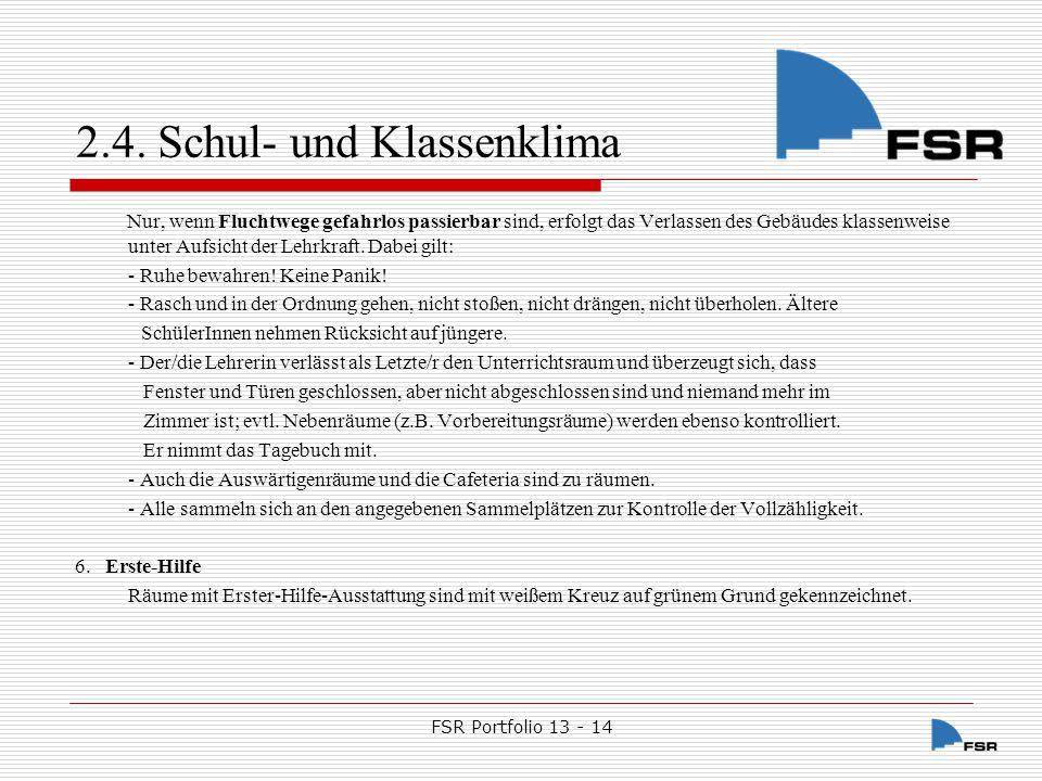 FSR Portfolio 13 - 14 2.4.
