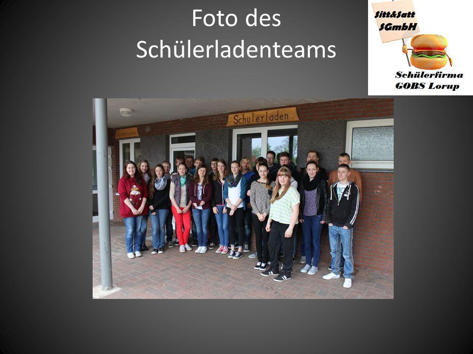 Foto des Schülerladenteams