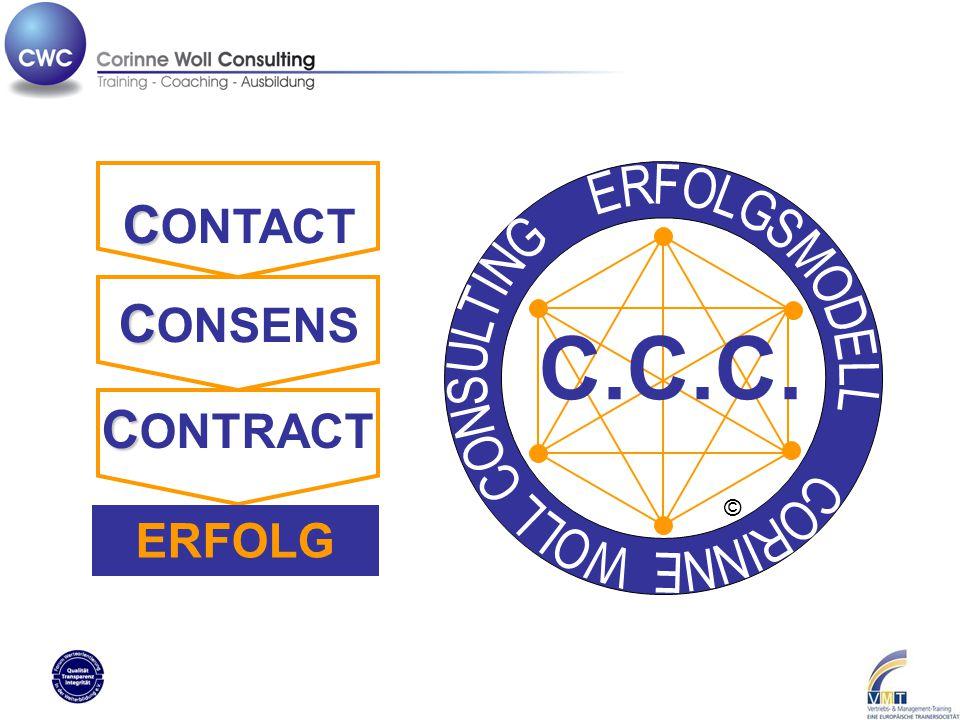 C.C.C. C C ONTACT C C ONSENS C C ONTRACT ERFOLG ©