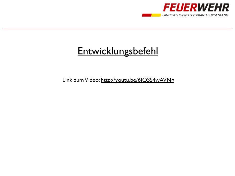 Entwicklungsbefehl Link zum Video: http://youtu.be/6IQSS4wAVNghttp://youtu.be/6IQSS4wAVNg