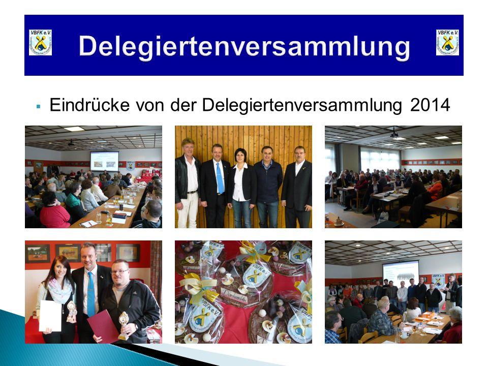  Eindrücke von der Delegiertenversammlung 2014