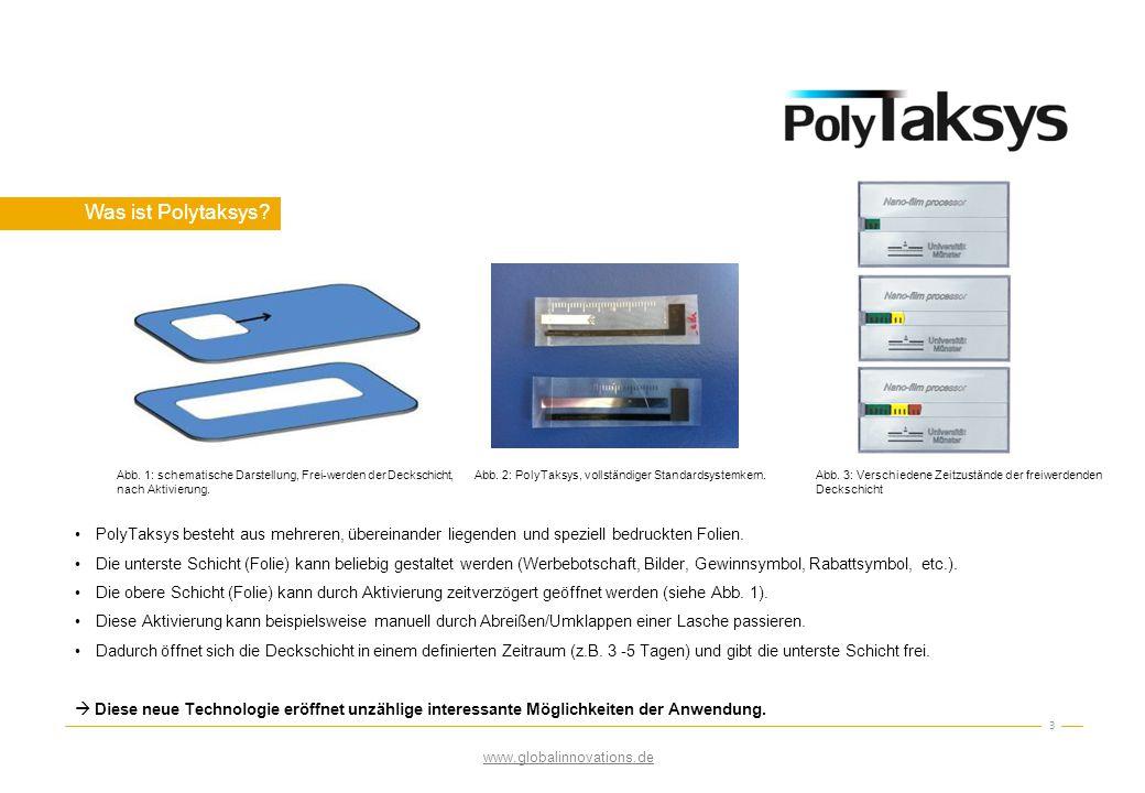 Technologie 4 Oberfläche einer 20nm dicken Al - Schicht Oberfläche einer Al 2 O 3 Schicht (oxidierte Al - Schicht) Funktionsweise PolyTaksys: Funktionsprinzip basiert auf einer lateralen Selbstoxidation von Aluminium - dadurch wird die verdeckte Schicht zeitverschoben sichtbar/ freigegeben.