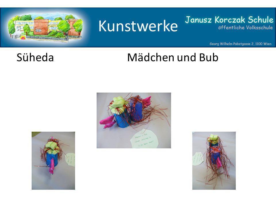Kunstwerke SühedaMädchen und Bub