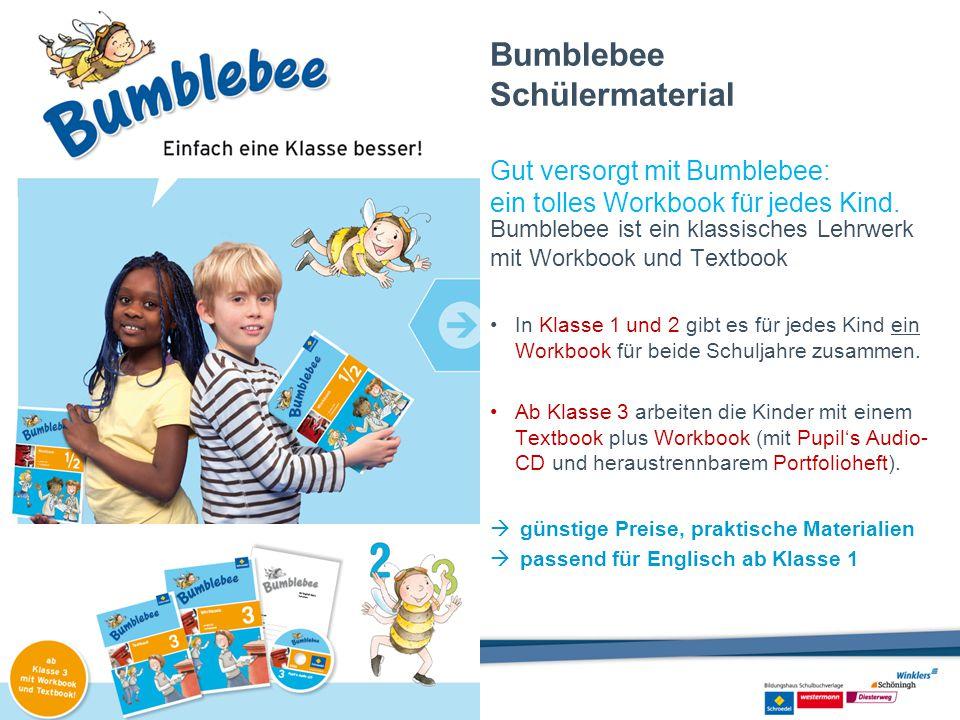 Bumblebee Schülermaterial Gut versorgt mit Bumblebee: ein tolles Workbook für jedes Kind. Bumblebee ist ein klassisches Lehrwerk mit Workbook und Text