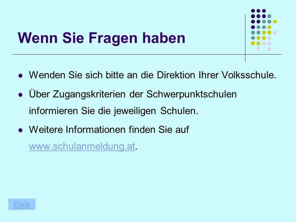 Ihr Kind soll ins Gymnasium Voraussetzung: In Deutsch und Mathematik keine schlechtere Beurteilung als Gut. Kann der Erstwunsch nicht erfüllt werden,